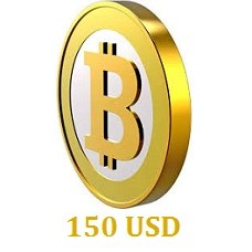 150 USD Bitcoin