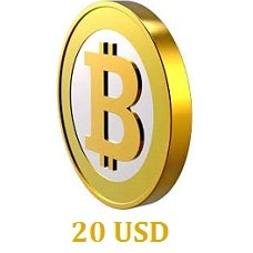 20 USD Bitcoin