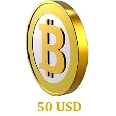 50 USD Bitcoin