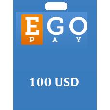 100 USD Egopay