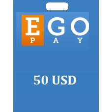 50 USD Egopay