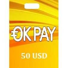 50 USD Okpay