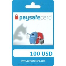 100 USD Paysafecard