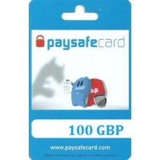 100 Pounds Paysafecard