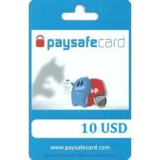 10 USD Paysafecard