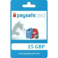 25 Pounds Paysafecard