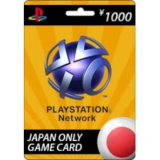 Sony Playstation Network ¥1000 Card
