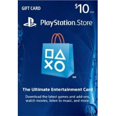 10 USD Playstation Network Card