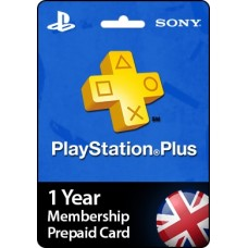 1 Year PlayStation Plus Membership Prepaid Card UK