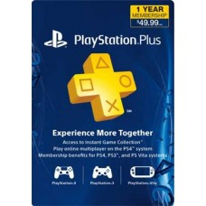 1 Year PlayStation Plus Membership Prepaid Card (CAD)