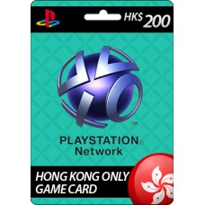 Sony Playstation Network HK$200 Card (HK)