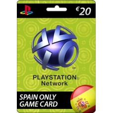 Sony Playstation Network €20.00 Card (SPAIN)