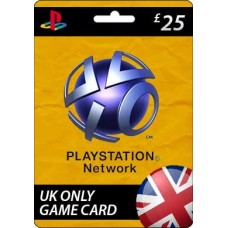 Sony Playstation Network £25.00 Card (UK)