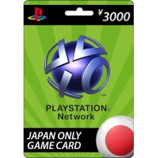 Sony Playstation Network ¥3000 Card