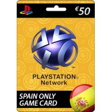 Sony Playstation Network €50.00 Card (SPAIN)