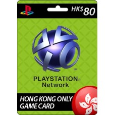 Sony Playstation Network HK$80 Card
