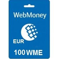 100 Euro Webmoney