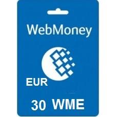 30 Euro Webmoney