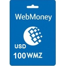 100 USD Webmoney