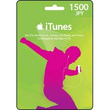 1500 JPY iTunes Gift Card