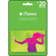20 AUD iTunes Gift Card