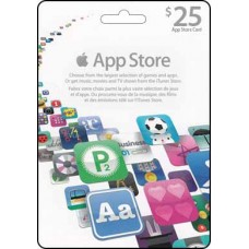 25 CAD iTunes App Store Gift Card