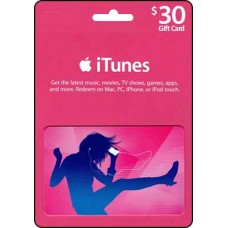 30 AUD iTunes Gift Card