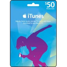 50 USD iTunes Gift Card