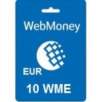 10 Euro Webmoney